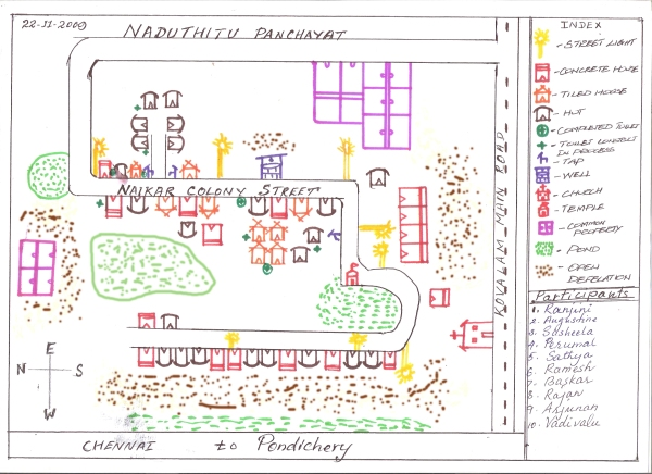 Figure 10_Participatory Rural Appraisal Mapping Process in Nadu Colony (India)_EN full